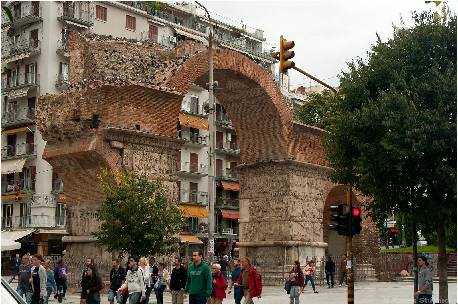 Saloniki: Łuk Galeriusza