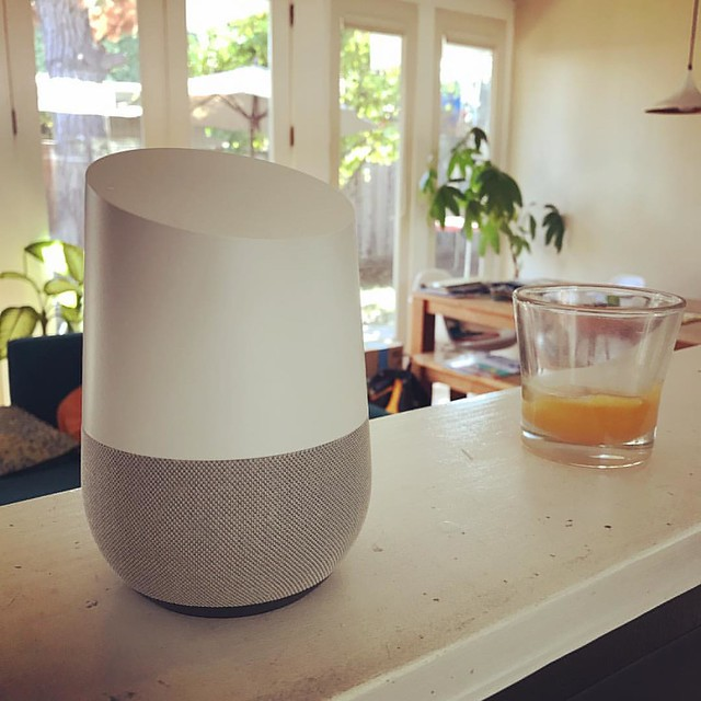 Ok, Google, we now have an artificial intelligence assistant at home that can control the TV, music, security and answer pretty much any question, it's pretty freakin' fascinating! #okgoogle #googlehome #google #ai #artificalintelligence