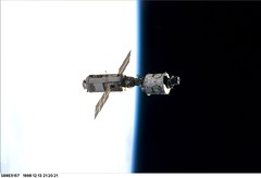 STS-88 ISS Assembly