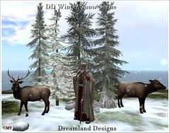 DD Winter Snow Scene Vendor
