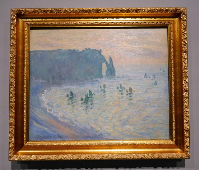 Les Rochers à Étretat - Claude Monet, 1886