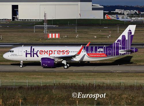 A320-271N, Hong Kong Express, F-WWIJ, B-LCL (MSN 7209) | A320 Family ...