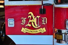 Arlington County Fire Department Engine 110