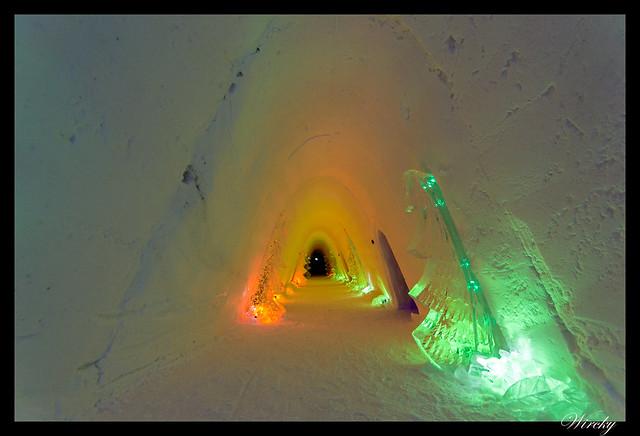 Excursiones Laponia finlandesa invierno - Iglú de hielo
