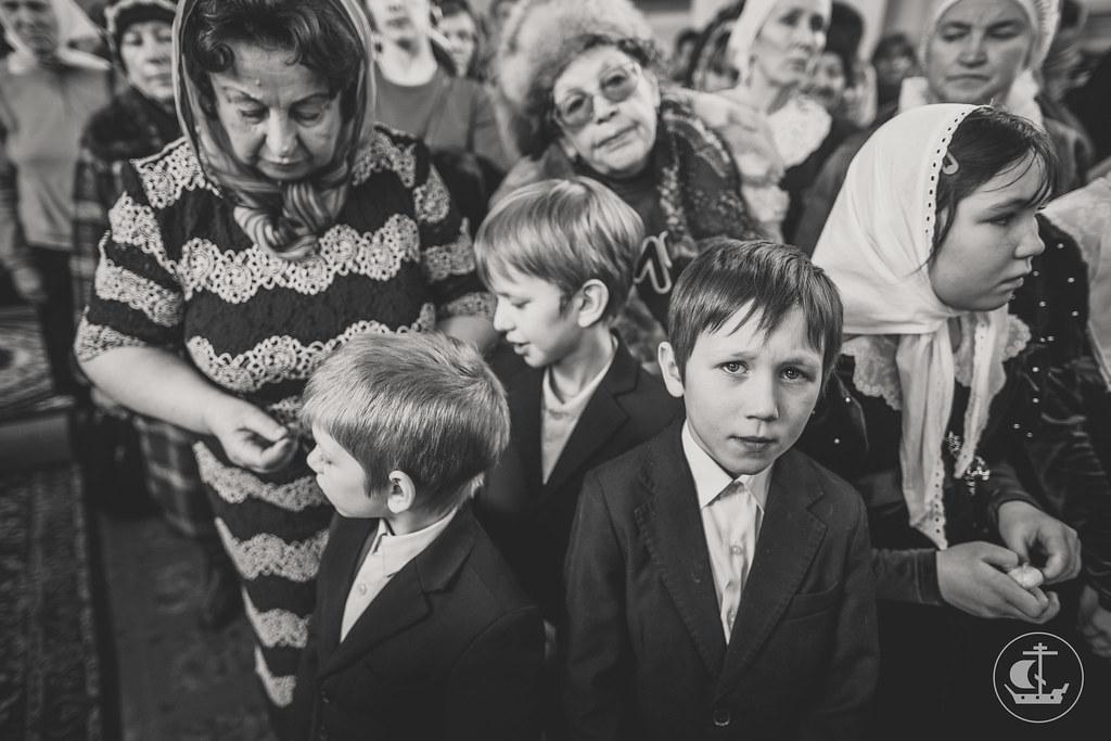 4 декабря 2016, Престольные торжества в храме Свято-Владимирской школы при Новодевичьем монастыре / 4 December 2016, Patronal festival in the church of St. Vladimir School at the Novodevichy Convent