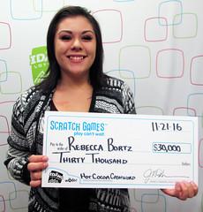 Rebecca Bortz - $30,000 Hot Cocoa Cashword