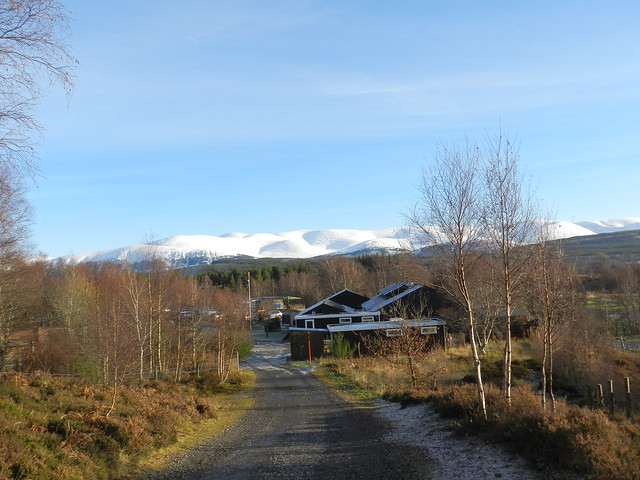 The Cairngorms from the, Nikon COOLPIX P500