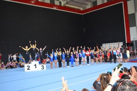 Gimnasia Artística acerera participó en 3ª Versión Copa Estadio Español