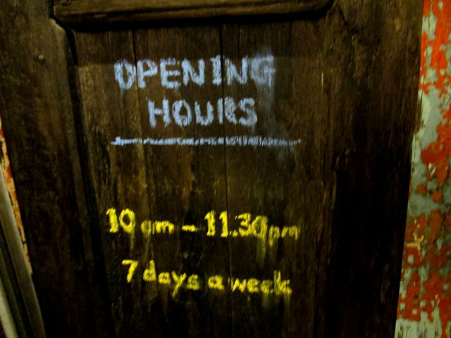 Upstairs Coffee opening hours
