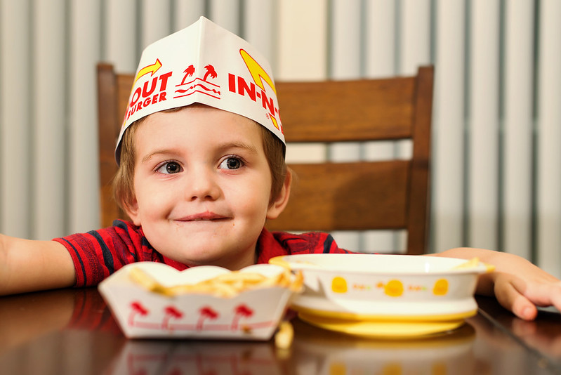 in n out burger kid #somuchmore #johnsonspartners