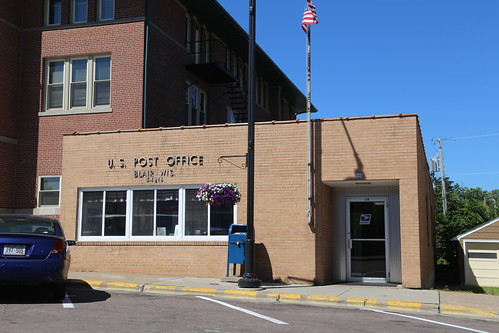 Blair Wisconsin, Post Office, 54616, Trempealeau County WI