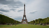 Eiffel Tower and the Champs du Mars by Sahil Chatterji