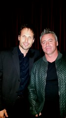 Tamas Menyhart and Matt LeBlanc - Westfield Entertainment