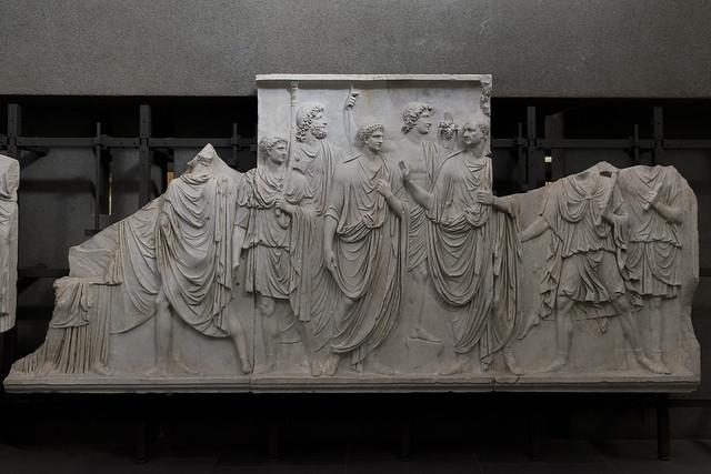 """""""Palazzo della Cancelleria Reliefs"""" III – Frieze B"""