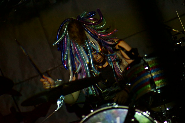 Coal Tar Moon live at Outbreak, Tokyo, 19 Aug 2015. 283C