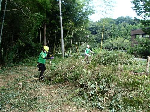 南相馬・小高でボランティア(援人 0821便)