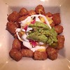 Our date night dinner last night left much to be desired but these tater tot nachos from before the comedy show? :ok_hand: