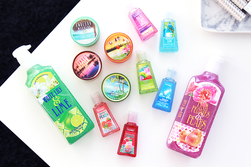 New York Beauty Haul: Bath & Body Works