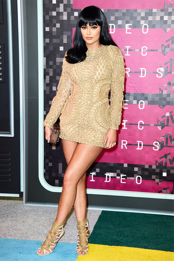 2015 MTV VMA Best Dressed - Kylie Jenner in Balmain