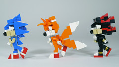 LEGO Sonic Tails & Shadow