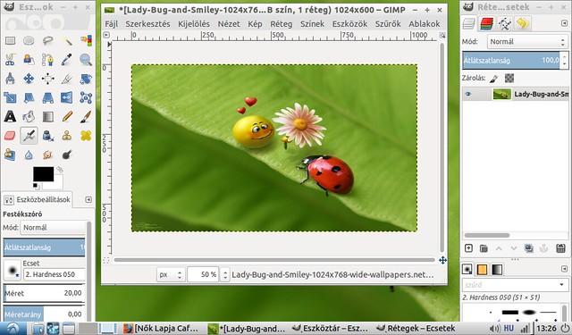 2015-08-31-132640_1024x600_scrotAsus Eee PC 1001HA korszerűsítése projekt #13