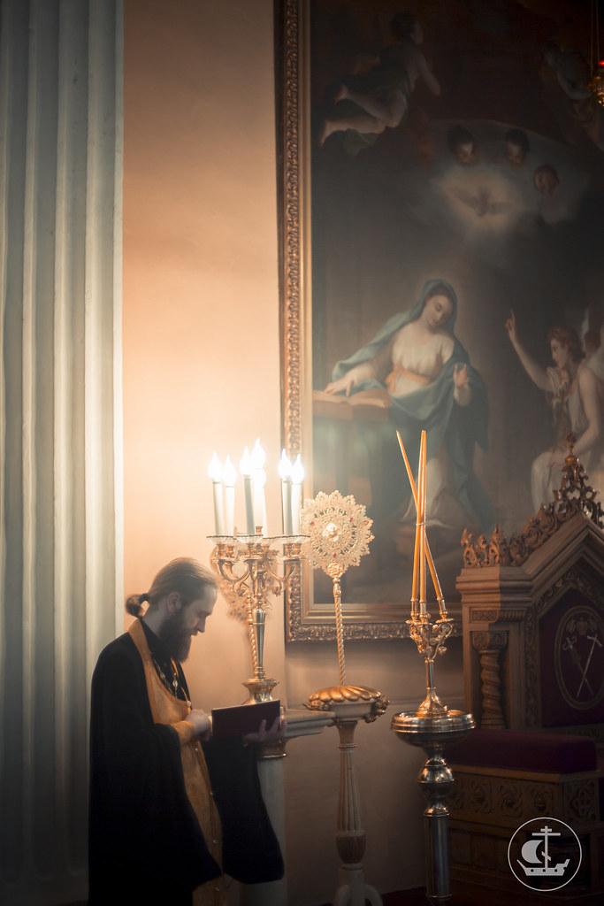 11 сентября 2015, Всенощное бдение в Александро-Невской лавре / 11 September 2015, Vigil at Alexander Nevsky Lavra