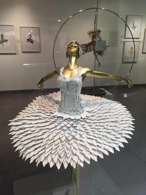 White ballerina by Ferdinand Cacnio