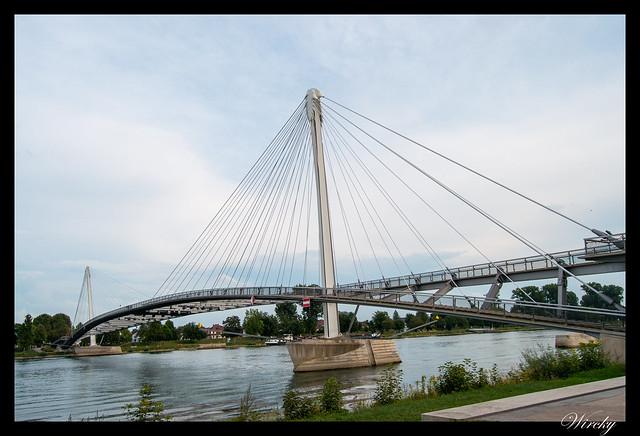 Puente en el Jardín de las dos orillas