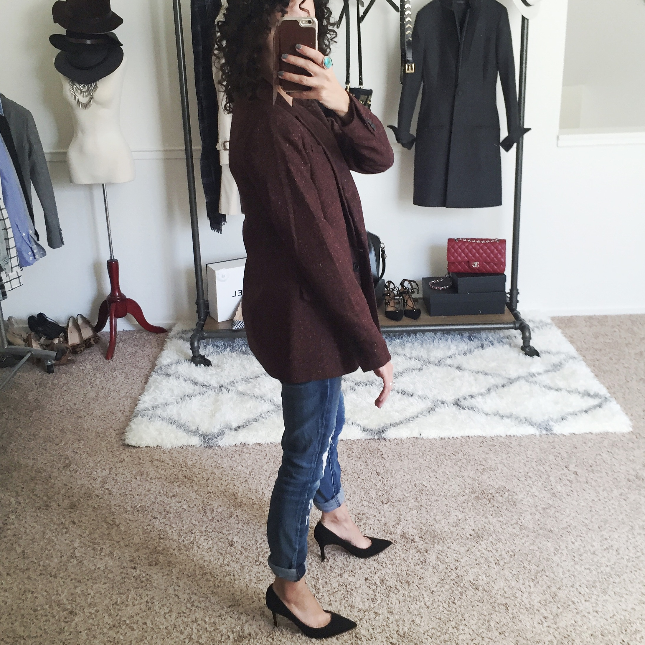 petite blazer fit review