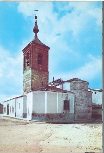 Santa Olalla(Toledo) : Iglesia de San Pedro, fachada Este= Eglise de Saint Pierre, Façade Est= Saint Peter Church, East front