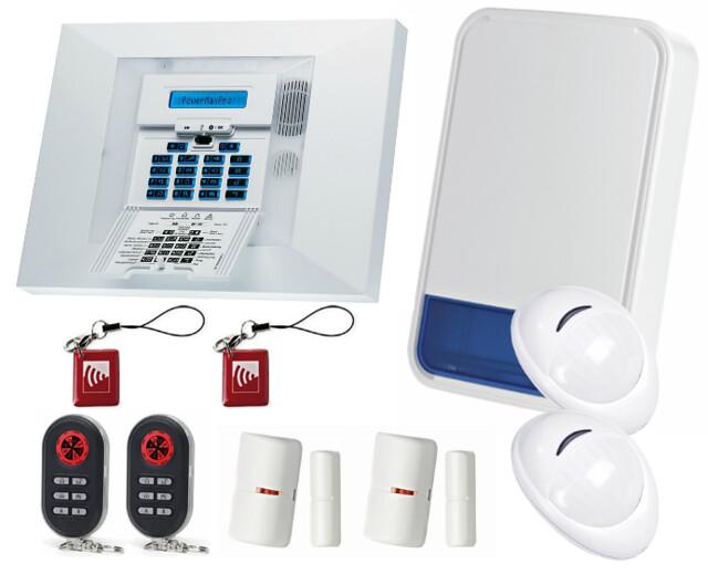 visonic powermax pro wireless burglar alarm kit 868mhz uk stock new ebay. Black Bedroom Furniture Sets. Home Design Ideas