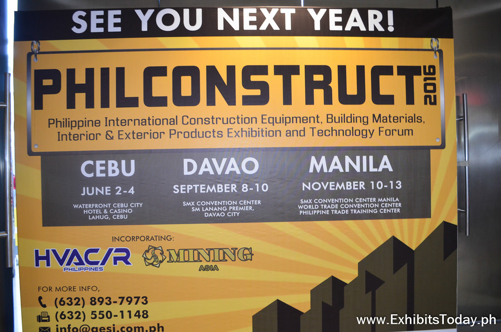 See You Next Year on PhilConstruct 2016!