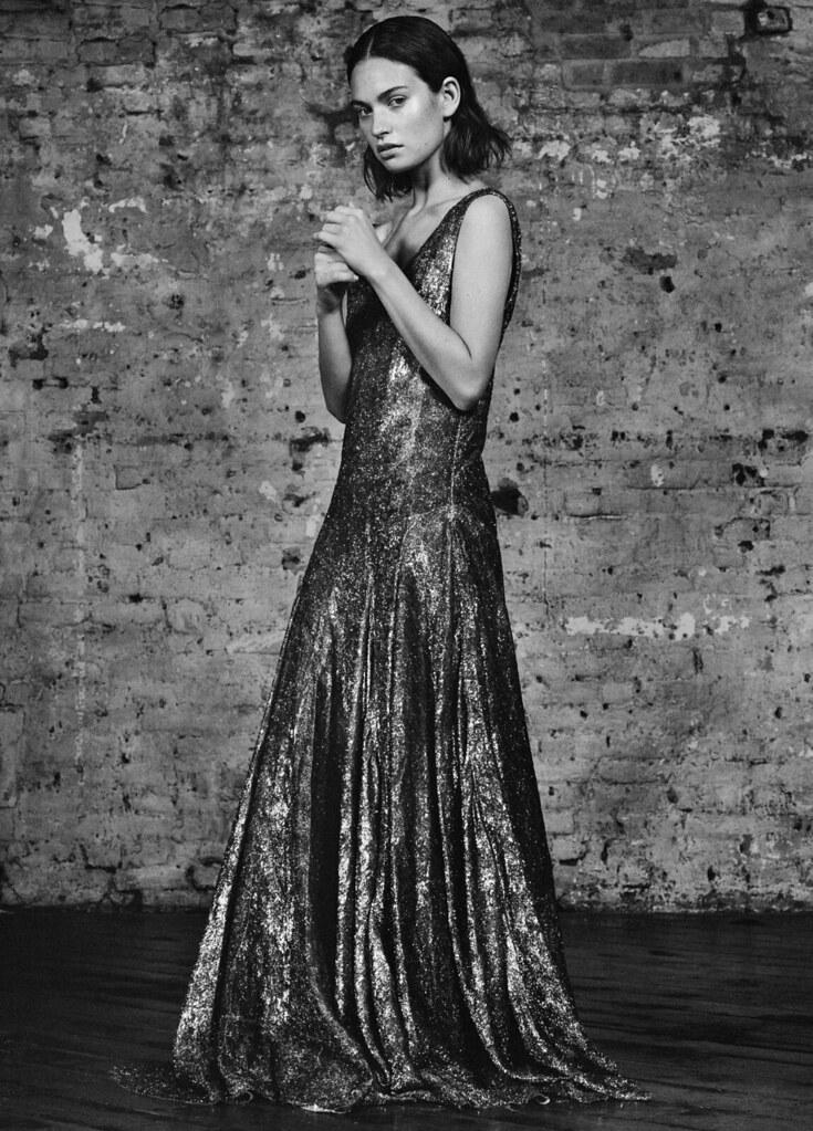 Лили Джеймс — Фотосессия для «Flaunt» 2015 – 2