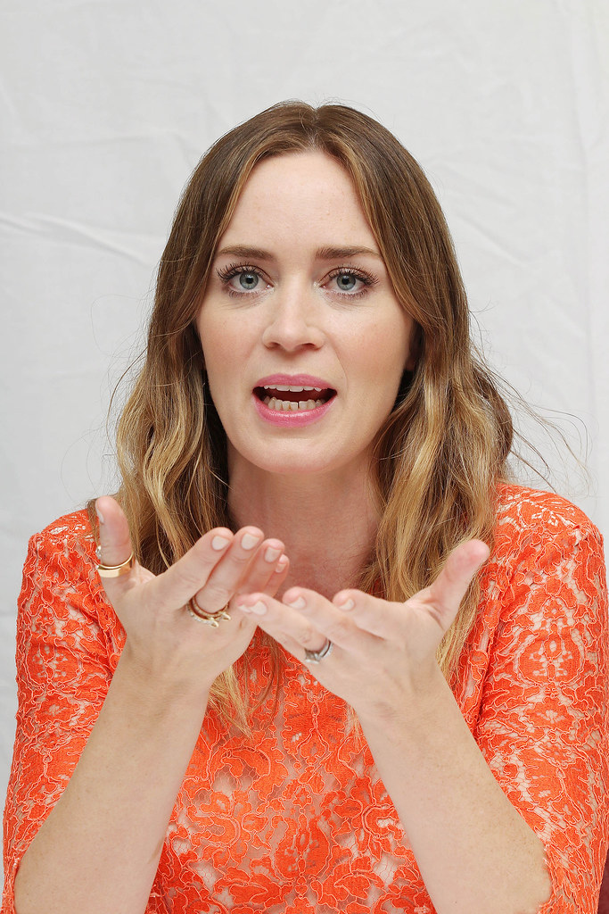 Эмили Блант — Пресс-конференция «Наёмница» на «TIFF» 2015 – 22