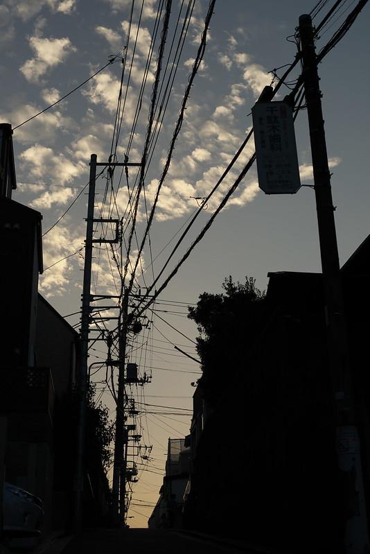 東京路地裏散歩 千駄木 2015年9月27日