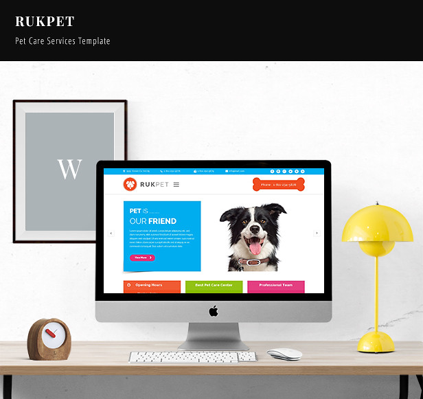 Rukpet - Pet Care Services Template - 7