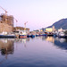 cape town harbour before sunset