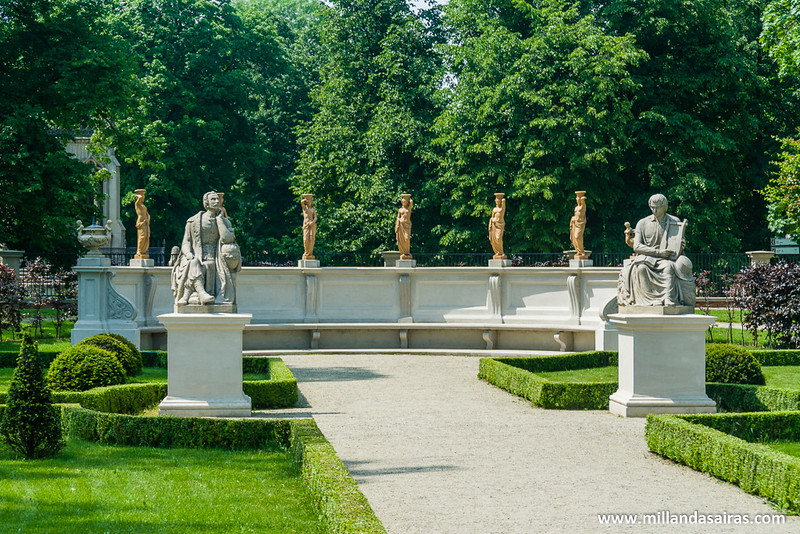 Jardines del Palacio de Wilanów