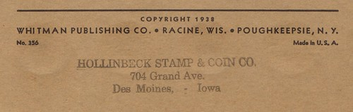 Hollinbeck Vendor Stamp - Des Moines