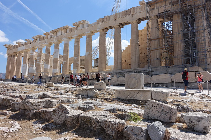 Visiting the Acropolis, 14 September 2015 086