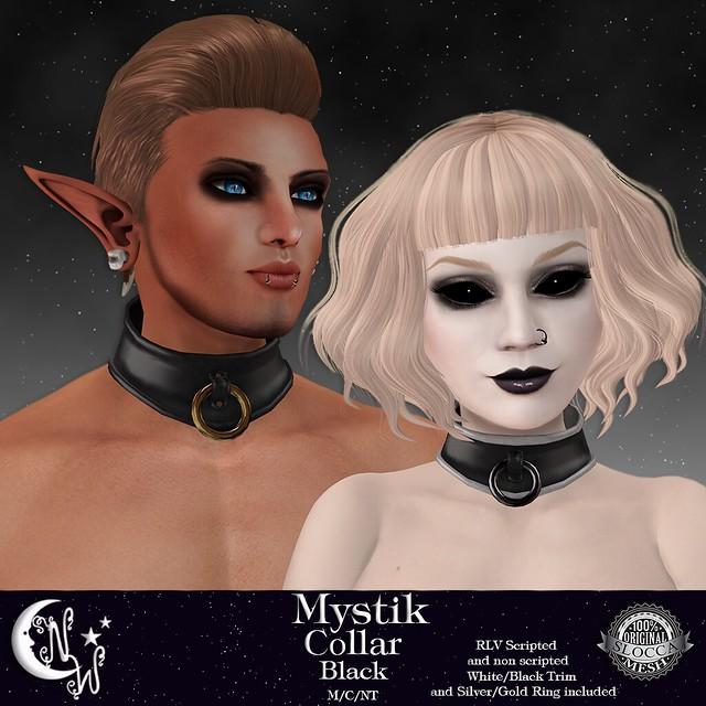 *NW* Mystik Collar - Black