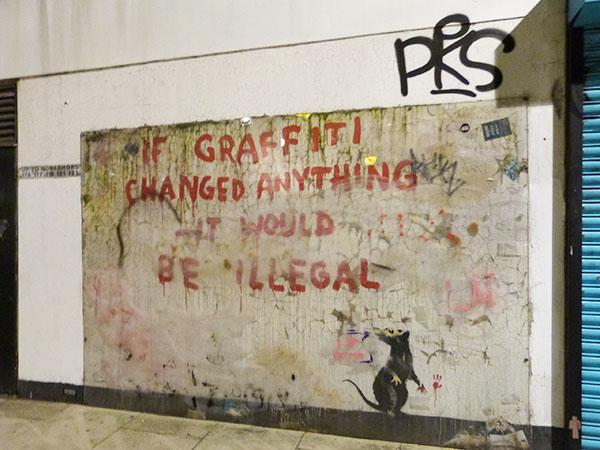 banksi graffiti