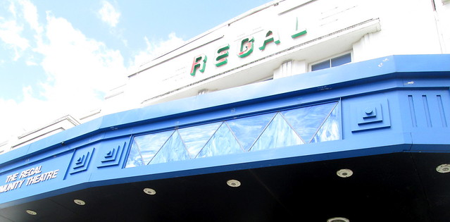 Regal Cinema, Bathgate, Canopy Detail