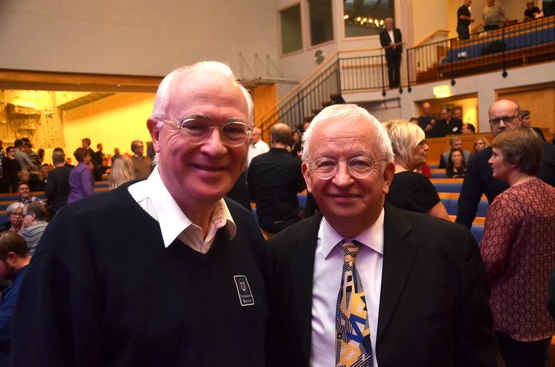 Torgny Hanson och Edward Gregson