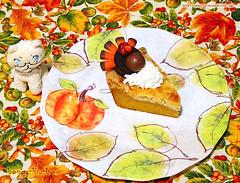 Upside down pumpkin pie