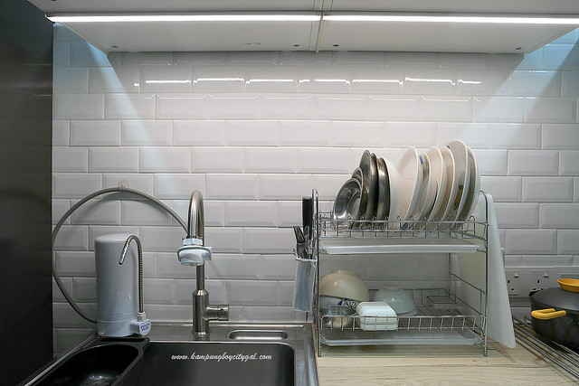 Beautiful The best investment in our wet kitchen is probably the OMLOPP LED worktop lighting in aluminum colour Not only it is functional in providing lighting for
