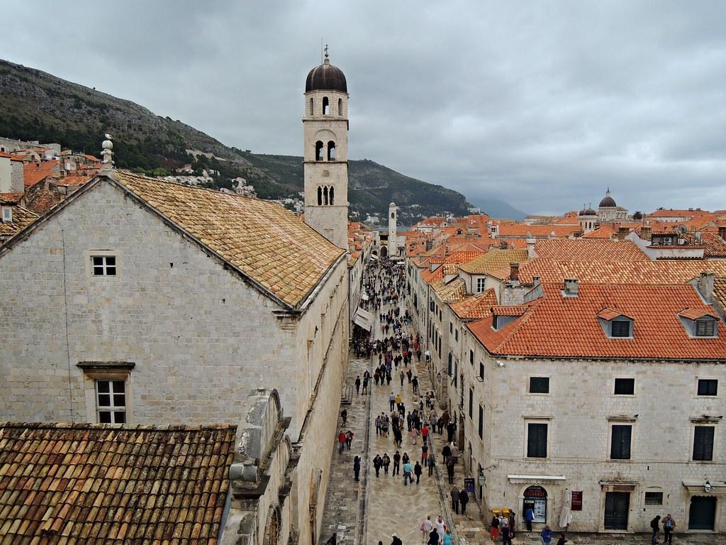 Walls of Dubrovnik, Dubrovnik, Dalmatia, Croatia