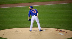 Matt Harvey delivers a pitch during #WorldSeries Game 5