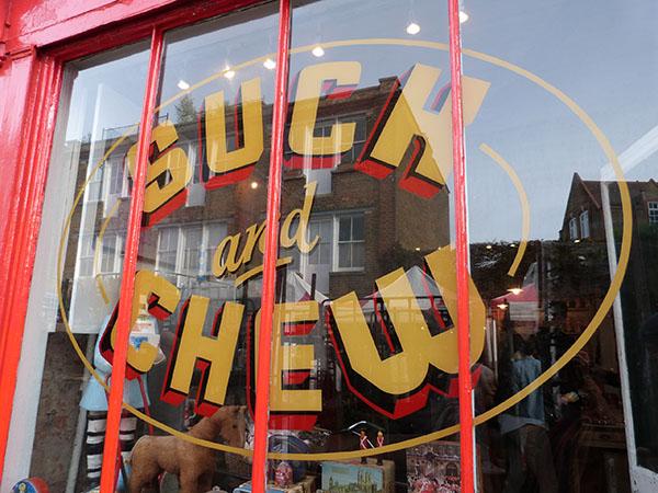 suck and chew