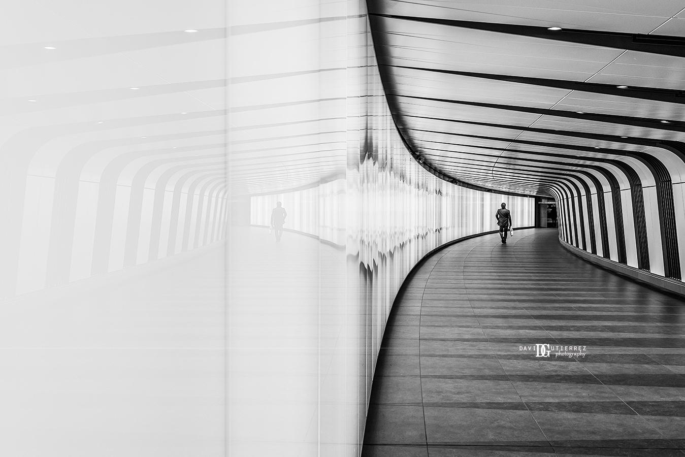 """Stripes"" King's Cross St. Pancras Station, London, United Kingdom by David Gutierrez Photography, London Photographer"